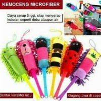Pembersih debu, Tongkat Lap Microfiber, Kemoceng Microfiber