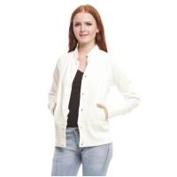 jaket wanita dewasa bahan baby terry export branded