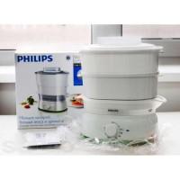 Panci Kukus Elektrik - Food Steamer Phlips HD 9104