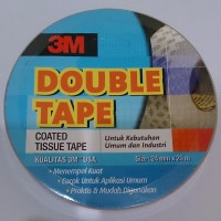 Double Tape 3M coated tissue / Double tape kertas
