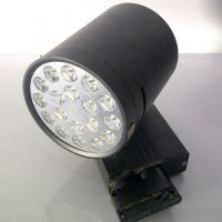 Lampu LED Track Lamp DownLight (18 watt) Toko Perhiasan Emas