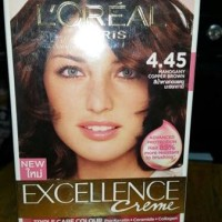 LOREAL EXCELLENCE 4.45/MAHOGANY COPPER BROWN Berkualitas