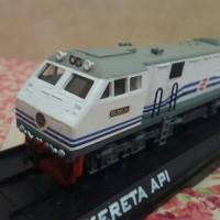 Miniature kereta lokomotif CC20120 Dishub