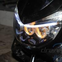 Limited Stock!! Yamaha NMAX Custom Headlamp with Mazda 2 OEM Projector
