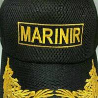 topi pilkep lapangan pamen marinir