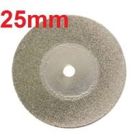 25mm Mata Diamond Gerinda Potong Wheel Cutting Disc Plat Besi