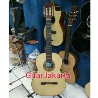 Gitar Classic Yamaha Natural Equalizer Murah Jakarta Garansi 1 Minggu