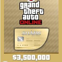 [PC Game DLC] Grand Theft Auto V - Great White Shark Cash ($3,500,000)