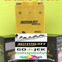 Aki motor Vespa Sprint GT 150 Motobatt MTX7L aki Motor gel Kering MF