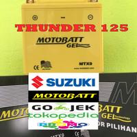 Aki motor Suzuki Thunder 125 Motobatt MTX9 aki Motor gel Kering MF