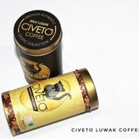 Jual CIVETO, Authentic Luwak Coffee (Arabica) Murah