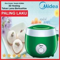 Midea rice cooker fashion gaya korea model terbaru MRM 2001 green
