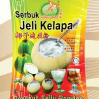 COCONUT JELLY POWDER HAPPY GRASS (Serbuk Jelly Kelapa) 225gr