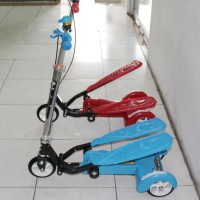 Skuter Anak Dual Pedal Wing Flyer Elite Series