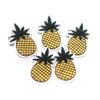 Tumblr / Iron Patch / Sticker Baju / Emblem / Badge Pineapple Small
