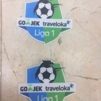 Pasang Patch Liga 1 Gojek Traveloka Grade Ori