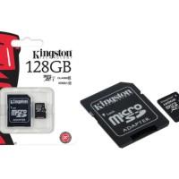 Micro SD - Kingston - Class 10 128GB (Adapter)