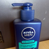Nivea Men Acne Control Fuji Ice Mud Serum Facial Foam MURAH