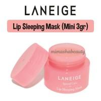 Jual Laneige Lip Sleeping Mask - Travel Mini Size 3gr Murah