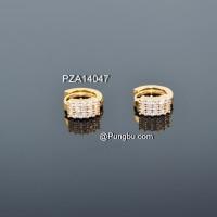 Giwang emas jepit tindik PZA14047