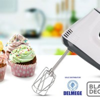 Black+Decker Hand Mixer 300 Watt 5 Speed M350B1