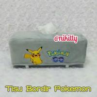 Tempat Tissue / Tisu / BoX Tisu KoTaK PoKeMoN