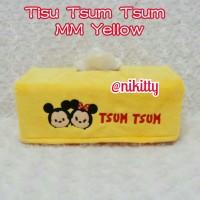 Tempat Tissue / Tisu / BoX Tisu KoTaK Tsum - Tsum YeLLoW