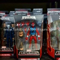 Marvel Legends Infinite Series Scarlet Spider-Man BAF Rhino HASBRO
