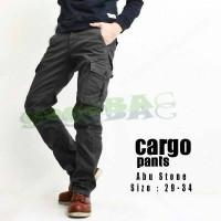 Jual Celana Panjang PDL Polos Slim Fit / Celana Gunung Pria / Celana Cargo Murah