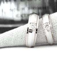 Jual cincin kawin couple paladium R2215a Murah