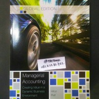 MANAGERIAL ACCOUNTING 10ED by: Hilton | Platt