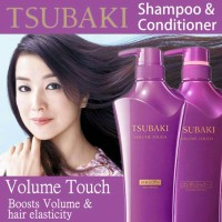 Paket 2IN1 Shiseido Tsubaki Volume Touch Shampoo + Conditioner 500ml