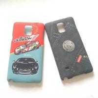 Hard case UmKU Samsung Note 4 ori Full print doff finish berkualitas
