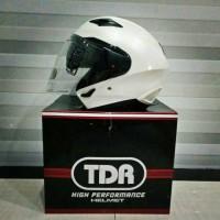 Jual Helm TDR XD611 White Pearl Murah