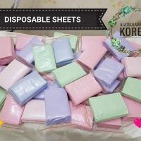 Disposable Sheet / Alas Kepala / Tatakan Kepala