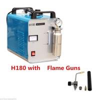 Oxygen Hydrogen Flame Generator Acrylic HHO Polishing Machine + Flame