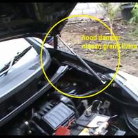 Hood Damper Per Kap Mesin Shockbreaker Mobil Grand Livina sbl 2014