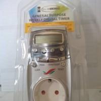 harga Stop Kontak Timer Digital Tokopedia.com