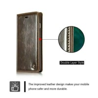 Flip wallet leather genuine Samsung galaxy S7