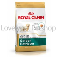 Royal canin golden retriever junior 3kg / dogfood royal canin