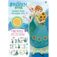 Disney Frozen Fever - Summer Fever Colouring Fun - Buku Mewarnai Anak