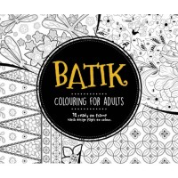 Jual (Import) Batik Colouring for Adults Book Mewarnai Coloring Indonesia Murah