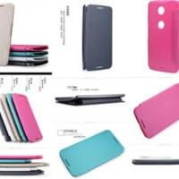 Nillkin Sparkle Leather Case / Flipcover Motorola Nexus 6