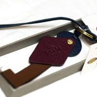 Fossil Key Fob Leather