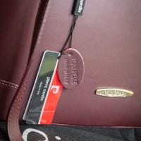 Pierre Cardin Handbag Maroon NWT