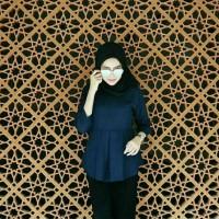 NEW ELENA BLOUSE/ Baju dan Pakaian Muslim Modern Wanita Harga Murah