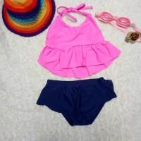 SALE Baju Renang Anak Perempuan - Baju Renang Two Pieces - Summer Time