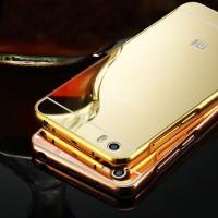 Xiaomi Mi5 / Mi 5 M5 - Hardcase Case Metal Bumper Mirror Back Cover
