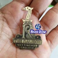 harga Emblem The Raleigh Nottingham Raly / Sepeda Onthel / Pit Ontel / Gowes Tokopedia.com