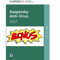 [NEW!! Kaspersky BIG BONUS] Kaspersky Antivirus 2017 - 1PC